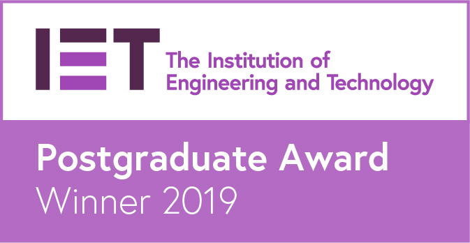IET award badge